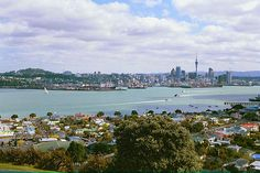 Auckland, New Zealand, 2001 - Harbour view