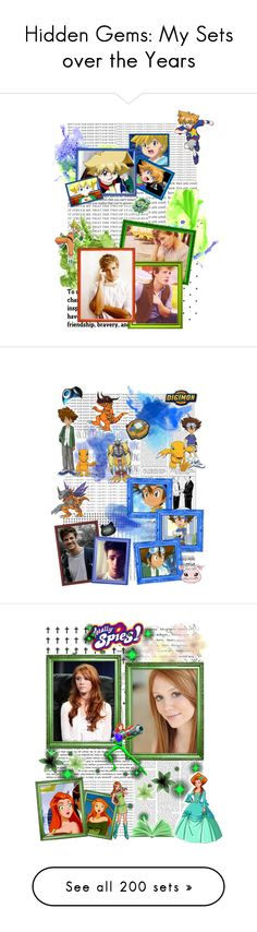 """""""Hidden Gems: My Sets over the Years"""" by hufflepuff9832 ❤ liked on Polyvore featuring art, dreamcast, beyblade, maxtate, DigimonAdventure, Digimon, whoop, totallyspies, winx and winxclub"""