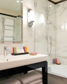 Marble bathrooms contain Etro toiletries. #Jetsetter  Oh my gosh so excited for my trip in May.
