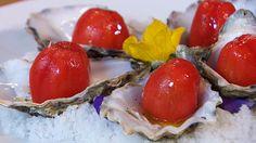 Receta de tomate con ostras