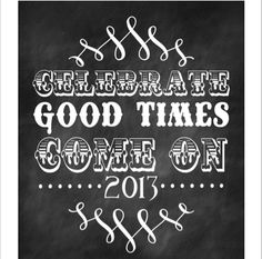 Chalkboard Printable from Lil Luna #NewYear's Featured @printabledecor1