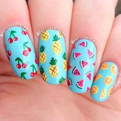 Summer Nail Art Ideas Youll Wish to Try ★ See more: https://naildesignsjournal.com/summer-nail-art-ideas/ #nails