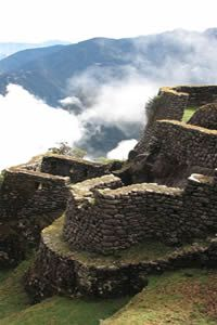 Machu Picchu is an Incan landmark inherited by Peru. If you don't know the story, we suggest you do a little research - a quick minute or two will give you the idea. Get out there. Take a tour. It's amazing to see what humans are capable of doing.