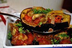 Imam Baildi Aka Stuffed Eggplant