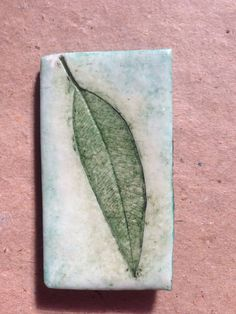 Nature Eucalyptus Gum leaf magnet polymer clay  on Etsy, $5.00 AUD
