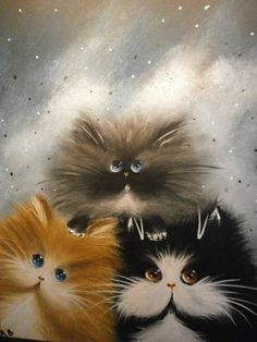 ARTFINDER: Top of the world by Alan Brunt - Fat cat collection, numbered, collectable and popular.