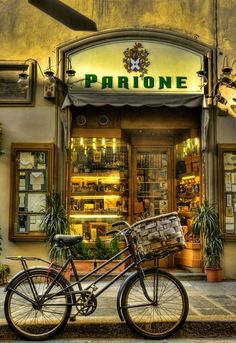 Lovely old store in Italy