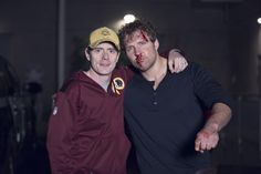happy holidays from us - @TheDeanAmbrose fans - Lockdown on it's way - 2015