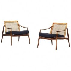 Beautiful Pair of Lounge Easy Chairs by Hartmut Lohmeyer for Wilkhahn For Sale at Kitchen Chairs For Sale, Accent Chairs For Sale, Black Dining Room Chairs, Accent Chairs For Living Room, Dining Table Chairs, Lounge Chair Design, Sofa Design, Lounge Chairs, Upholstered Swivel Chairs
