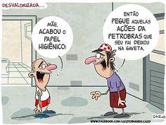 Ações da Petrobras
