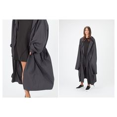 New arrivals from @teretbantine have us excited for Autumn's arrival. We love the layering possibilities of their oversized lightweight coat with some serious sleeves!