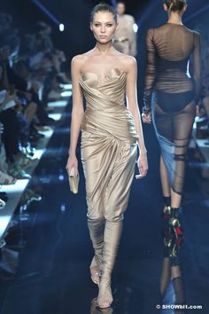 Vika Falileeva  at Alexandre Vauthier Haute Couture Fall-Winter/2013