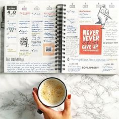 (never, never, never give up!) love this, @darialoves_paper ❤️️ #gettoworkbook Life Planner, Planner Ideas, On October 3rd, But First Coffee, Happy Weekend, Giving Up, Never Give Up, How To Plan, Paper