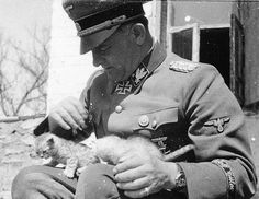Appears to be Sepp Dietrich and some kittens