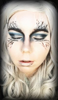 Frosty Ice Queen/Princess inspired Look