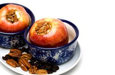 Microwaved Baked Apples // Core an apple and put it in a microwave-safe bowl. Stuff the middle with dried fruit and nuts of your choice and pour a few tablespoons of water over the dried fruit to soften it. Dust the apple with cinnamon. Microwave on high until the apple is tender, about 5 minutes, and let it stand for 5 additional minutes before digging in.