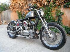 1967 Harley Davidson Sportster Custom,940cc,Chrome,Kick,Video