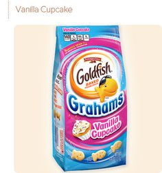 Pepperidge Farm® - Goldfish® Grahams Vanilla Cupcake. Could take 10 or 15 (40-60 calories) and make a trail mix. Could add a 100 calorie pack of chocolate covered pretzels and maybe a handful of macadamia nuts