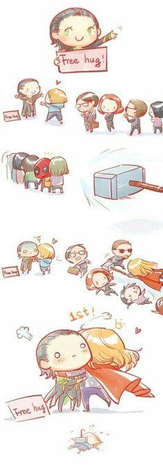 Thor need a hug