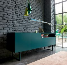 Modern luxury wooden sideboard  in 192 cm length Fashion by Dall Agnes at My Italian Living Ltd