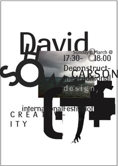 Dubai lecture at International Festival for Creativity, March 2015 #dubailynx #davdicarsonart
