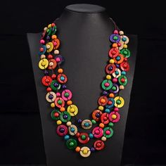 Cheap long necklace, Buy Quality long necklace women directly from China ethnic necklace Suppliers: UDDEIN Bohemia Ethnic Necklace & Pendant Multi Layer Beads Jewelry Vintage Statement Long Necklace Women Handmade Wood Jewelry Braided Necklace, Beaded Statement Necklace, Wood Necklace, Bohemian Necklace, Tribal Necklace, Choker Necklaces, Wooden Bead Necklaces, Unique Necklaces, Beautiful Necklaces