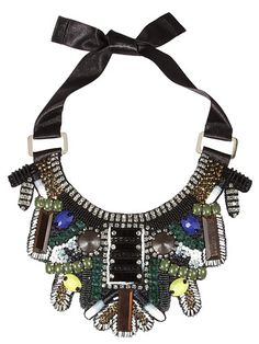 20 Best Statement Necklaces - Bold Statement Necklace 2013 *on a very simple dress or T net-a-porter