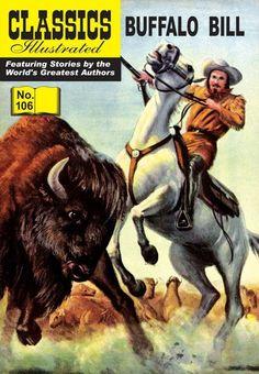 Classics Illustrated #106: Buffalo Bill