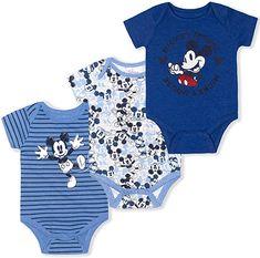 Disney Boys, Baby Disney, Boy Onesie, Onesies, Baby Boy Outfits, Kids Outfits, Cute Babies, Baby Kids, Mickey Mouse Outfit
