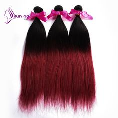 Find More Human Hair Extensions Information about KUNNA ombre peruvian hair…