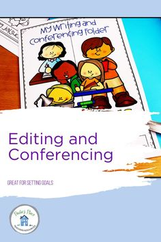 Writing conferences and setting new goals can be so time consuming! This Editing, Revising and Conferencing Lapbook has been a life changer in our Writing sessions. We always know what stage, goal and level our students are working on. Writing Conferences, Writing Posters, Setting Goals, Learning Centers, Stage, Students, Teaching, Life, Education