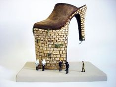 The Surreal Shoe Sculptures of Costa Magarakis - Neatorama