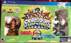 skylanders swap force ps4 starter pack swap tops bottoms create new skylanders - Categoria: Avisos Clasificados Gratis  Item Condition: NewSkylandersSwap ForcePS4 Starter PackSwap tops, Swap bottomsCrate New SkylandersBlast Buckler, Ninja stealth Elf, Wash Buckler, Blast ZoneSwappable, UnstoppableNew Game & Portal IncludedPictures are of actual in stock productBox may have warehouse sticker damage otherwise brand new condition!Items are shipped within one 1 business day of payment receiptWe…
