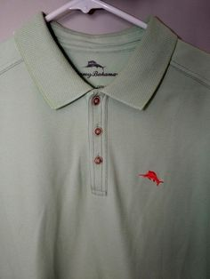 Tommy Bahama Polo Supima cotton NWOT, Soft lime green size M #TommyBahama #PoloRugby