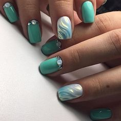 Marmaid nails