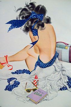 Fritz Willis Vintage Illustration