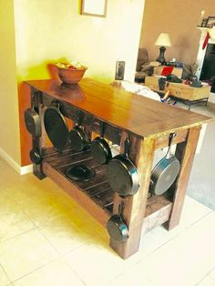 Butcher/iron table