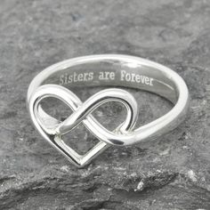 Do you have your own idea or design? Let us know. We can accommodate any of your idea and design, simply because each and every piece of our product are unique handmade for our customer. This post for ONE custom made 925 sterling silver engraving infinity knot ring. Pleases specify things below in the message 1. The message you want to put inside 2. Maximum 16 letters including space Everything is custom made. Please allow us about 1 - 2 weeks to make a new item. Please let me know if you…