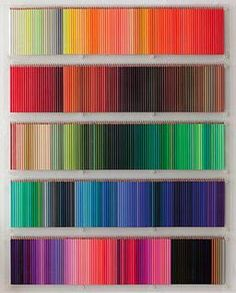 The ultimate coloured pencil collection