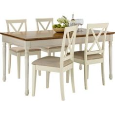 wiltshire two tone dining table 8 chairs from homebase. Black Bedroom Furniture Sets. Home Design Ideas