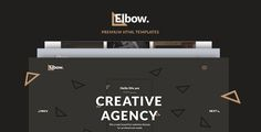 Elbow - Creative Responsive Agency HTML5 Template - Creative Site Templates