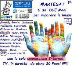 #ARTESAT ti da Due MANI per imparare le #linguestraniere  solo con la #ConnessioneInternet senza la #Parabola oltre 20 paesi e piu' !!! Che aspetti corri da ARTESAT !!!!! www.artesat.it #as96 #aspc #stgoasbl #staswpbl  #stdwasfbpg #stdwfbac #sttcanot #stasappi #sttegfbac #sttggsp