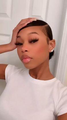 Black Girl Braided Hairstyles, Slick Hairstyles, Baddie Hairstyles, Ponytail Hairstyles, Weave Hairstyles, Girls Natural Hairstyles, Mixed Girl Hairstyles, Hair Ponytail Styles, Curly Hair Styles