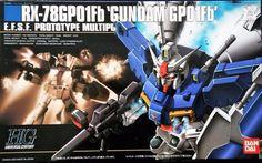 Bandai HGUC 1/144 Scale RX-78GP01Fb  'Gundam GP01FB'   #Bandai