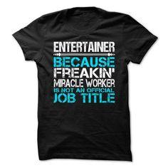 Entertainer #Tshirt #style. FASTER:   => https://www.sunfrog.com/LifeStyle/Entertainer-63836507-Guys.html?id=60505