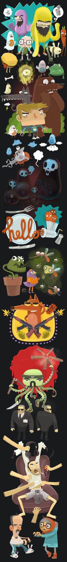 персонажи для игр, Персонаж © СергейРатников ★ Find more at http://www.pinterest.com/competing/