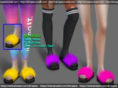 The Sims 4 Fluffly Slides Sims 4 Teen, Sims Four, Sims 4 Toddler, Sims 4 Mm, Maxis, Sims Free Play, Sims 4 Nails, Sims 4 Cc Eyes, Fluffy Slides