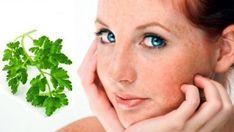 Liečivá voda zo zelenej vňate: Odstráni z pokožky akné, škvrny, pehy aj vrásky Beauty Skin, Hair Beauty, Skin Lightening Cream, Tips Belleza, Skin Tips, Best Face Products, Skin Problems, Freckles, Natural Skin