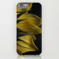 Artistic / Designer Cell Cases - Slim Case for iPhone 6, 6 Plus, 5, 4 / Samsung Galaxy S6 S5 S4 / IPOD Touch Backside of Sunflower Nature Photograph