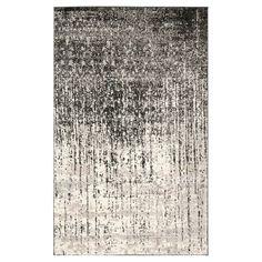 Safavieh Jayden Area Rug - Black / Light Grey ( 6' X 9' ) #GreyRugs
